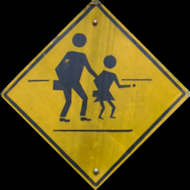 School Crossing Safety Sign
