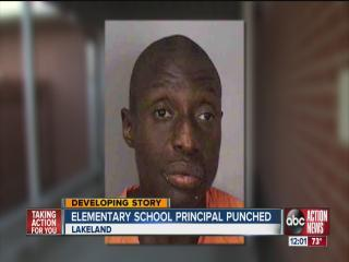 Principal attacked by intruder says students are safe