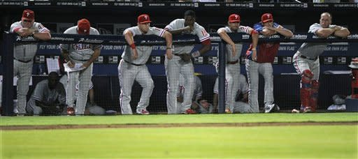 Minor sharp as Braves top Phillies, 2-1