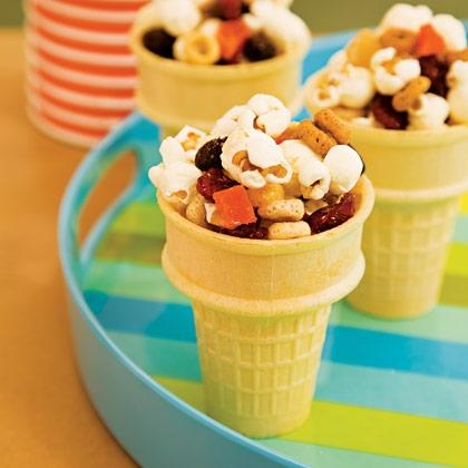 Fruit & Nut Snack Cones