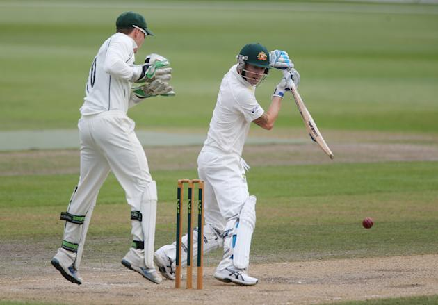 Cricket - International Tour Match - Day Three - Worcestershire v Australia - New Road