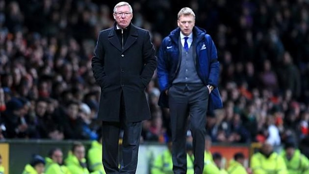 Sir Alex Ferguson and David Moyes