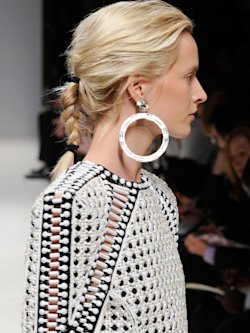 MESSY BRAIDS AT BALMAIN