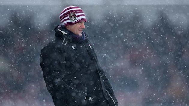 Aidy Boothroyd's charges came out on top in adverse weather conditions