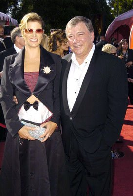 William Shatner and wife Elizabeth 56th Annual Emmy Awards - 9/19/2004