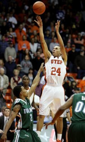 Bohannon sparks UTEP past Tulane in OT 54-52