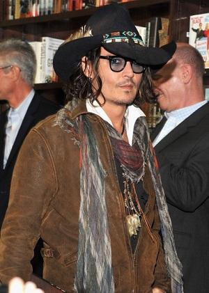 Johnny Depp Gets in on the Whole Book-Publishing Scam With HarperCollins Imprint