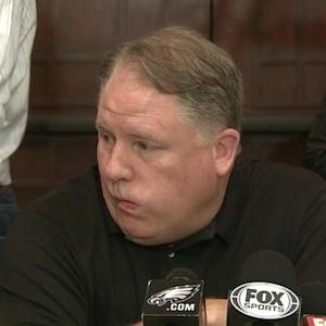 Philadelphia Eagles head coach Chip Kelly: 'Didn't go in with a plan for all these maneuvers'