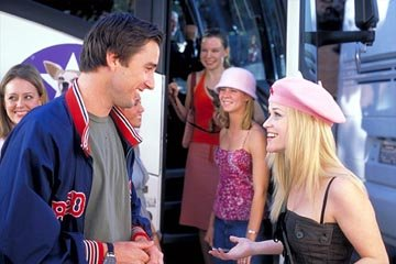 Luke Wilson and Reese Witherspoon in MGM's Legally Blonde 2: Red, White &amp; Blonde