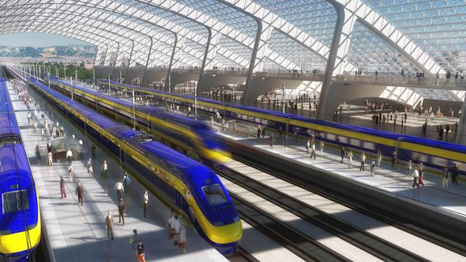 Judge backs Calif. high-speed rail over farmers
