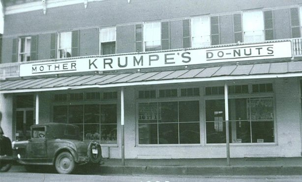 The Iced Peanut Butter Twists at Krumpe's Do-Nuts
