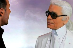 Karl Lagerfeld Collaborates With Snoop Dogg For New Music Video. Yes Really.