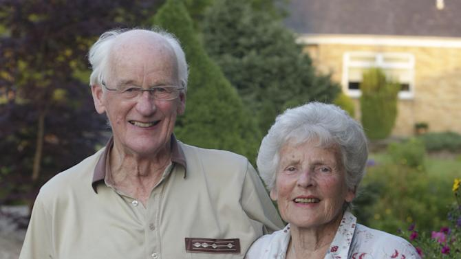 Andy Murray's grandparents celebrate