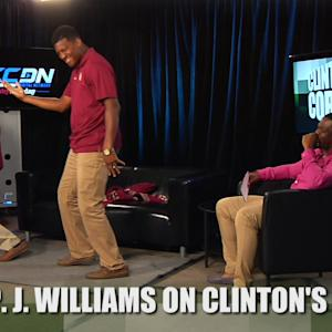 "P.J. Williams Performs Dance From ""The Wood"" on Clinton's Corner"