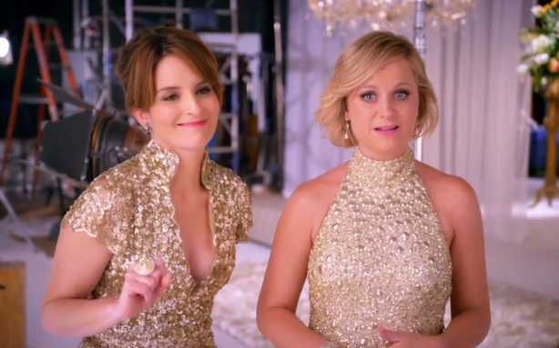 Tina Fey and Amy Poehler Made a 2013 Golden Globes Drinking Game for You
