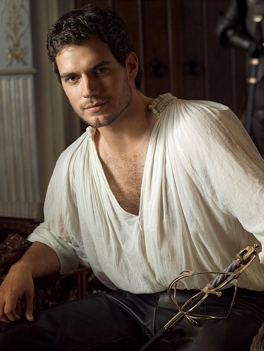 Henry Cavill stars as Charles Brandon in The Tudors.