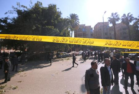 Militants claim Cairo blast that killed six police
