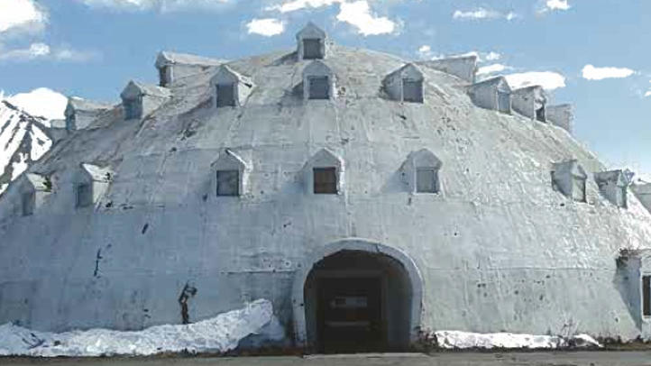 the urethane igloo in Anchorage, Alaska