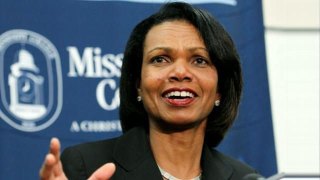 Is Condoleezza Rice Romney's VP Front-Runner?