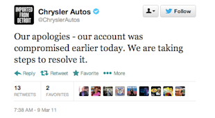 Triumphs and Train Wrecks: Brands that Successfully Recovered—and Didn't—From Social Media Fails image chrysler recover