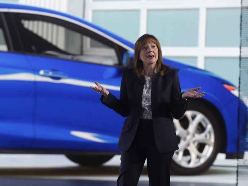 GM CEO Barra received $16.2 million in 2014 compensation