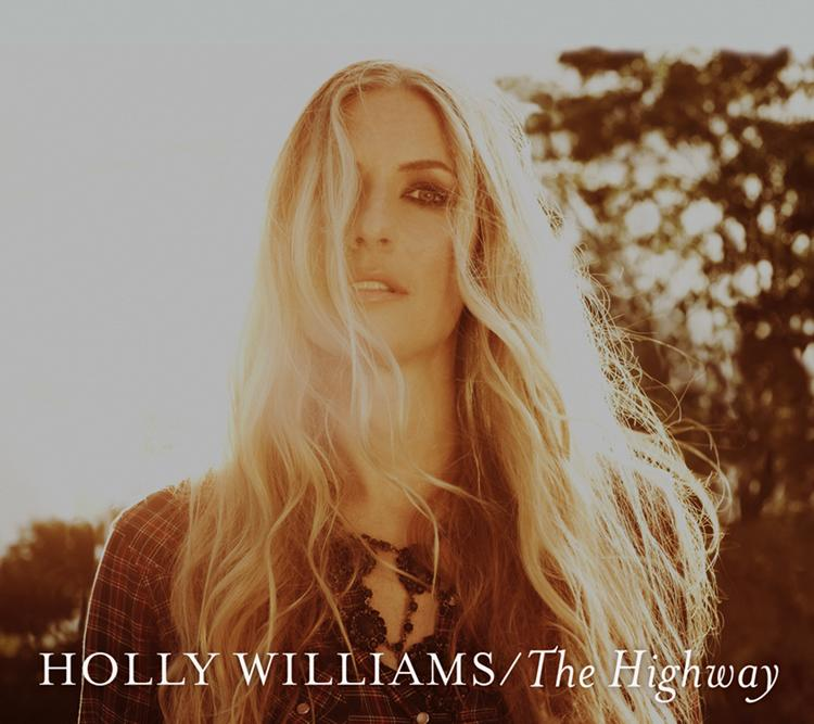 "This CD cover image released by Georgiana Records shows ""The Highway,"" by Holly Williams. (AP Photo/Georgiana Records)"