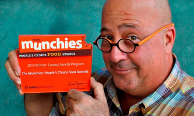 The votes are in! Bizarre Foods America host Andrew Zimmern and General Mills announce the winners of third annual Munchies: People's Choice Food Awards. Tablespoon.com/themunchies.