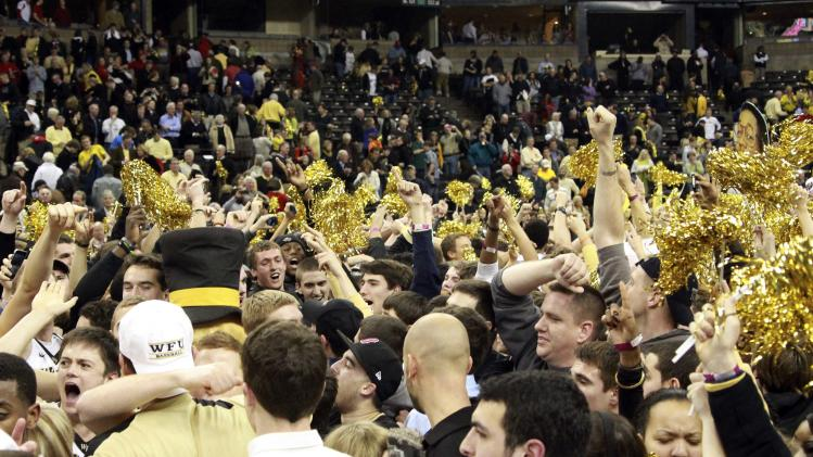NCAA Basketball: North Carolina State at Wake Forest