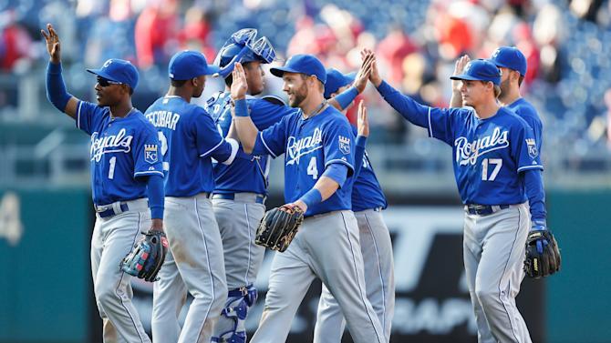 Kansas City Royals v Philadelphia Phillies