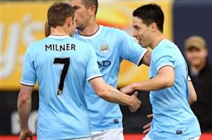 Manchester City 5-3 Chelsea: Nasri hits double in thrilling friendly