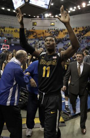 No. 4 Shockers hold off Indiana State 65-58