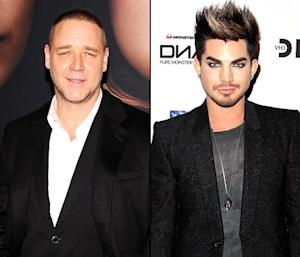 "Russell Crowe Doesn't ""Disagree"" With Adam Lambert's Harsh Les Miserables Criticism"