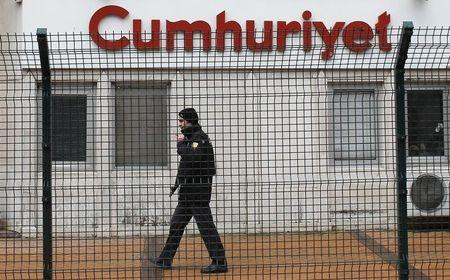 Turkish newspaper says faces tax inspection after journalists arrested