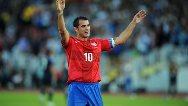 Serie A - Serbia's Stankovic bids farewell with win over Japan