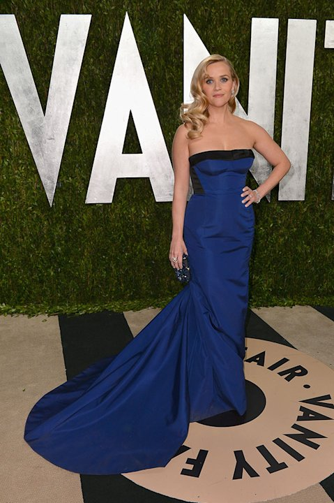 2013 Vanity Fair Oscar Party Hosted By Graydon Carter - Arrivals: Reese Witherspoon