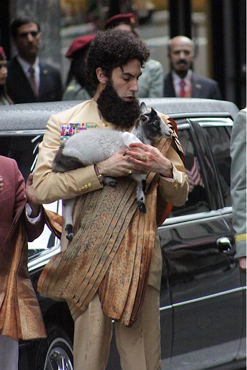 Sacha Baron Cohen The Dictator Set