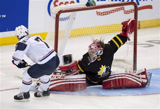Canada edges US 3-2 in women's world championship