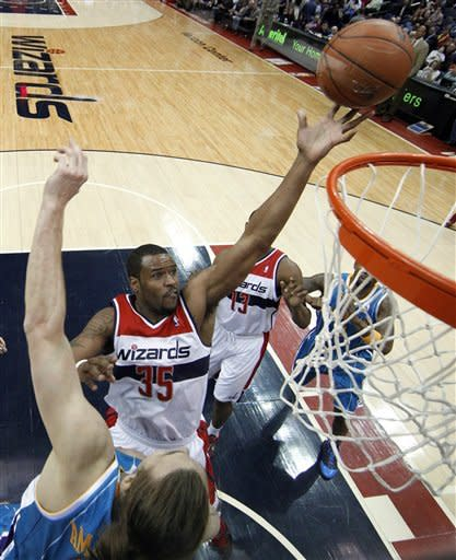 Wall has season-high 29; Wizards top Hornets 96-87