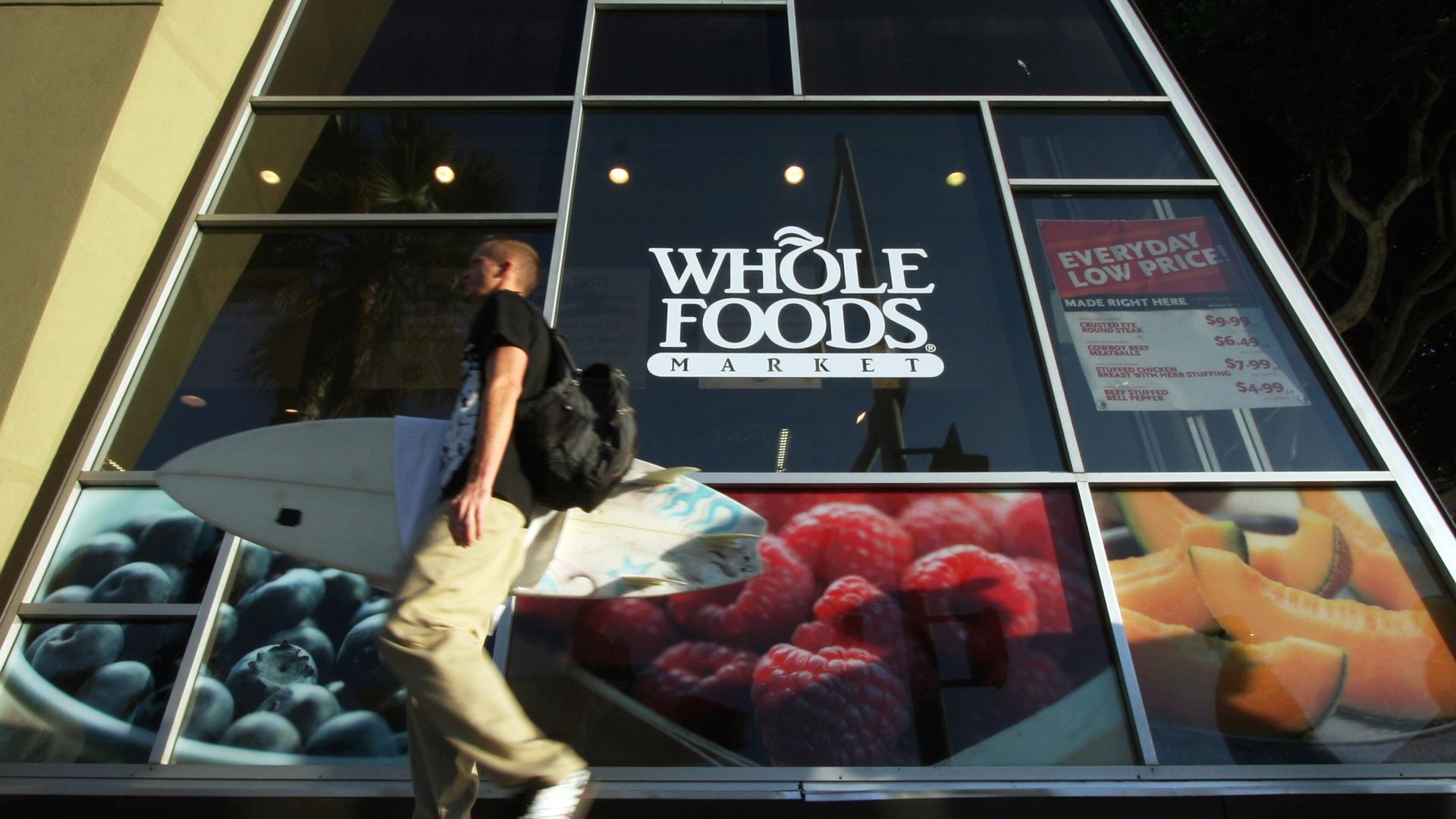 You may be able to get a tattoo while shopping at Whole Foods' new stores