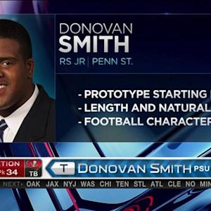 Tampa Bay Buccaneers pick offensive lineman Donovan Smith No. 34 in the 2015 NFL Draft