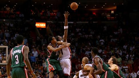 Heat beat Bucks, 113-106 in OT