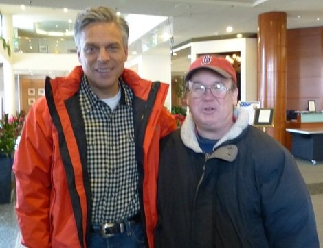 Impressed with Jon Huntsman, a N.H. Independent Struggles Over His Vote