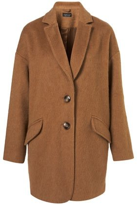 Mohair Boyfriend Coat