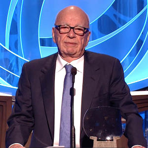 Rupert Murdoch is Inducted into the 23rd Television Academy Hall of Fame