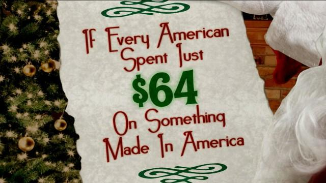 Made in America Christmas Edition: American Consumers Save Company