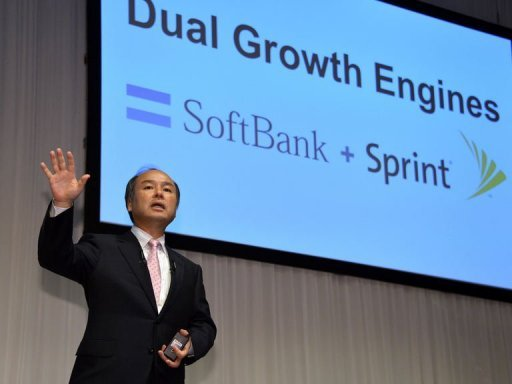&lt;p&gt;President of Japan&#39;s mobile carrier Softbank Masayoshi Son announces that Softbank will acquire US-based Sprint Nextel in Tokyo on October 15, 2012. Shares in Softbank soared 10 percent in Tokyo trade on Tuesday as investors piled back into a stock that has been pounded since news of its $20 billion takeover of Sprint Nextel emerged.&lt;/p&gt;