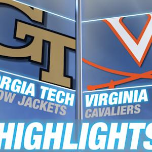 Georgia Tech vs Virginia | 2014-15 ACC Men's Basketball Highlights