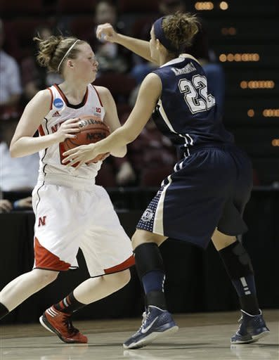 Nebraska tops Chattanooga in NCAA women's tourney