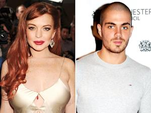 Lindsay Lohan, The Wanted's Max George Hook Up in Boston!