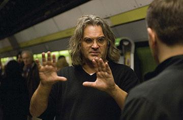 Director Paul Greengrass behind the scenes of Universal Pictures' The Bourne Ultimatum